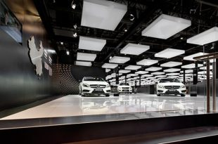 Exhibition stand Mercedes-Benz, Peking